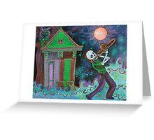 Bayou Blues Greeting Card