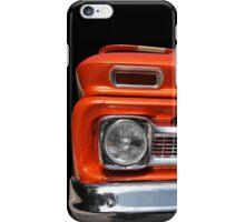 Big in orange iPhone Case/Skin