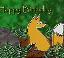 Happy Birthday Fox by jkartlife