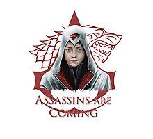 Arya Stark Assassin Photographic Print