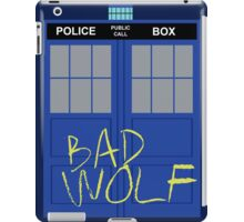 Tardis - Bad Wolf iPad Case/Skin