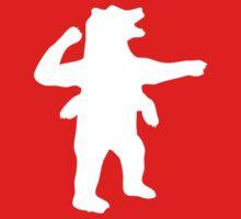 No Up artwork (four-armed bear) Kids Clothes
