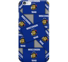 Smartphone Case -  State Flag of Wisconsin 4 iPhone Case/Skin