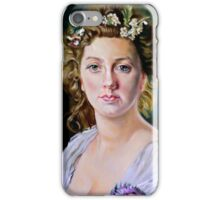 Flora after Gustave Jean Jacquet iPhone Case/Skin