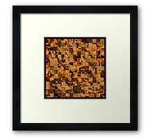 Favourite colors Framed Print