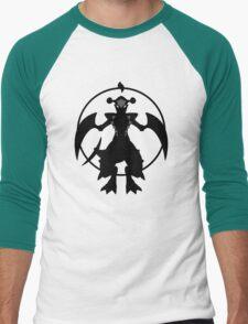 MEGA JAWS Men's Baseball ¾ T-Shirt