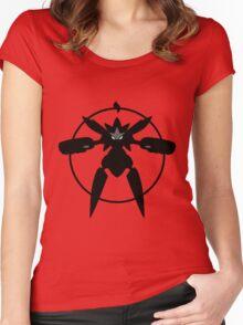 MEGA METAL COAT Women's Fitted Scoop T-Shirt