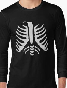 Skeleton Ribs Chest Xray Long Sleeve T-Shirt