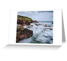 Coastal Chaos Greeting Card