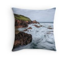 Coastal Chaos Throw Pillow