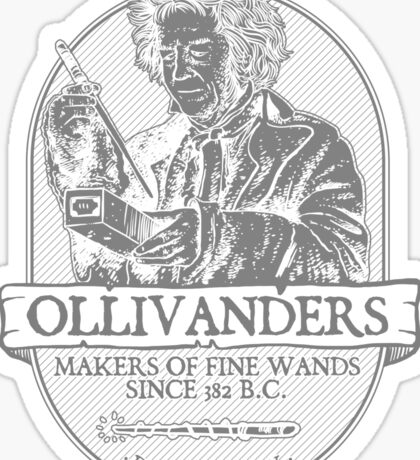 Ollivanders fine wands Sticker