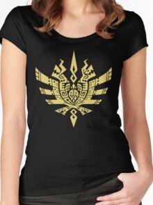 Monster Hunter 4 Logo Women's Fitted Scoop T-Shirt