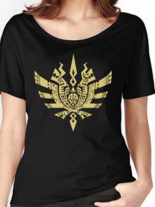 Monster Hunter 4 Logo Women's Relaxed Fit T-Shirt