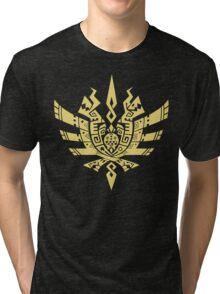 Monster Hunter 4 Logo Tri-blend T-Shirt