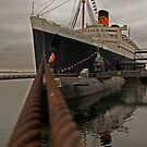 Queen Mary, The Grey Ghost by Mark Walker