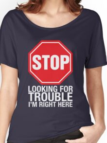 Stop looking Women's Relaxed Fit T-Shirt