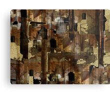 Abstraction from destruction Metal Print