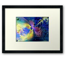 Twin Flames of Love  Framed Print