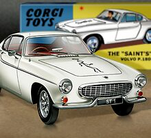 Volvo P1800 'The Saint' by Tony  Newland