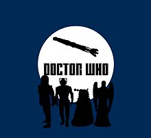 Doctor Who Monsters by diannelugo