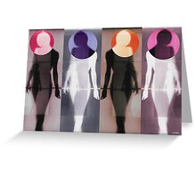 Body Language 5 Greeting Card