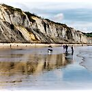 Charmouth Beach by Susie Peek