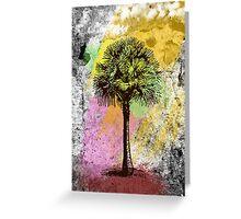 Grunge Palm Tree T-Shirt - Art Prints - Stickers Greeting Card