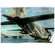 Lockheed Hercules C.1K XV213 detail Poster