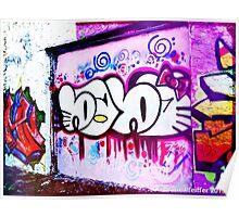 Graffiti, West Philly- September 2013 Poster