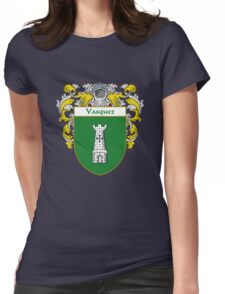 Vasquez Coat of Arms/Family Crest Womens Fitted T-Shirt