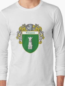 Vazquez Coat of Arms/Family Crest Long Sleeve T-Shirt