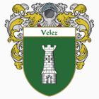 Velez Coat of Arms/Family Crest by William Martin