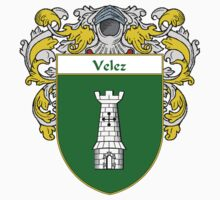 Velez Coat of Arms/Family Crest One Piece - Long Sleeve