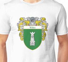 Velez Coat of Arms/Family Crest Unisex T-Shirt