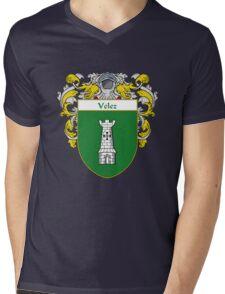 Velez Coat of Arms/Family Crest Mens V-Neck T-Shirt