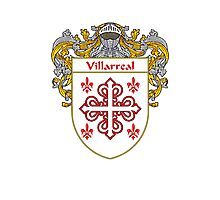 Villarreal Coat of Arms/Family Crest Photographic Print