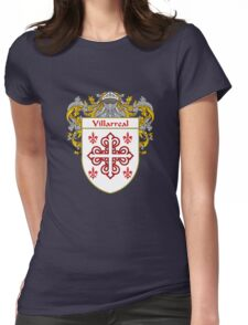 Villarreal Coat of Arms/Family Crest Womens Fitted T-Shirt