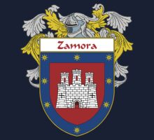 Zamora Coat of Arms/Family Crest One Piece - Short Sleeve
