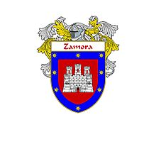 Zamora Coat of Arms/Family Crest Photographic Print