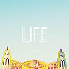 Life is a Roller Coaster by Libertad  Leal