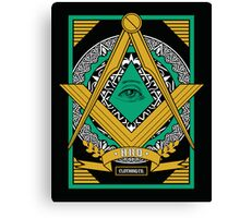 Freemasons Canvas Print
