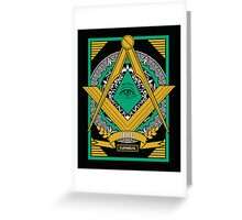 Freemasons Greeting Card