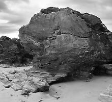 Rock Formation, Ballyliffin by Adrian McGlynn