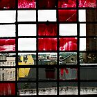 Red Window in Cork by MarkYoung