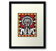 Tears of a Chief Framed Print