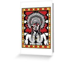 Tears of a Chief Greeting Card