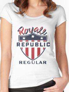 Vintage Royale Republic Gasoline Women's Fitted Scoop T-Shirt