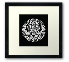 Hanuman Smoking Framed Print
