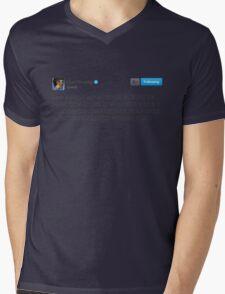 DUNK EM Mens V-Neck T-Shirt