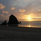 Haystack Rock by Dani LaBerge
